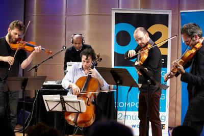 From the Archives: Brooklyn Rider and DJ Spooky in Q2 Music's Beethoven Remixed