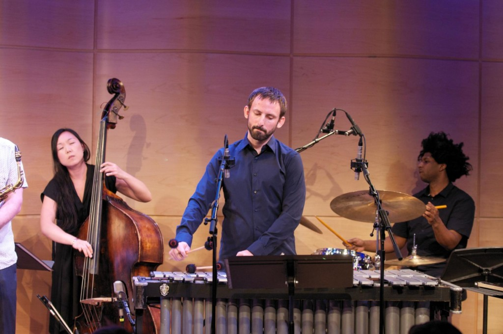 Composer/vibraphonist Chris Dingman performs live in The Greene Space