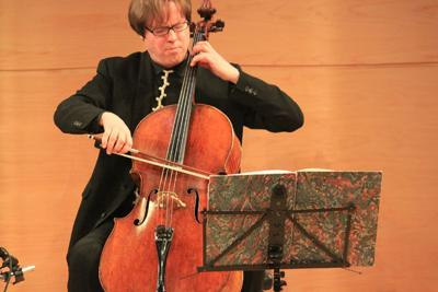 Bach Lounge: Cellist Jan Vogler Plays from Bach's Suite No. 1, Live in The Greene Space