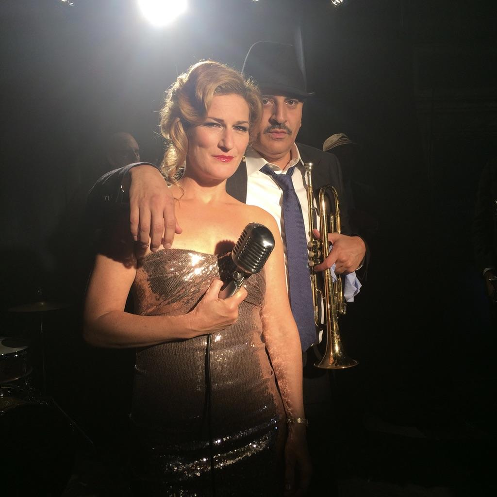 Ana Gasteyer and Julian Fleisher