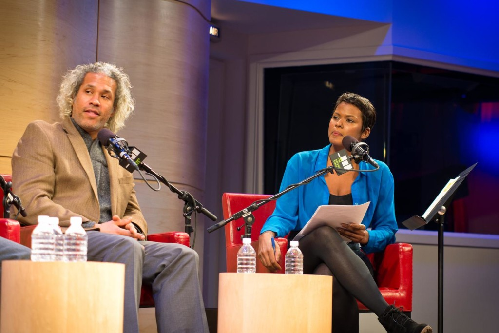 Khary Lazarre-White and Cassandra Freeman in The Greene Space