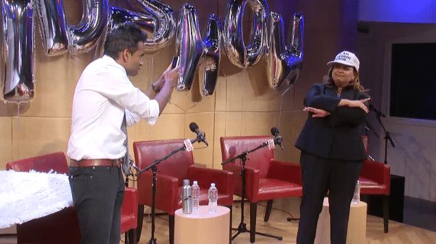 Studio 360's Sideshow: Lakshmi Wears the Hat