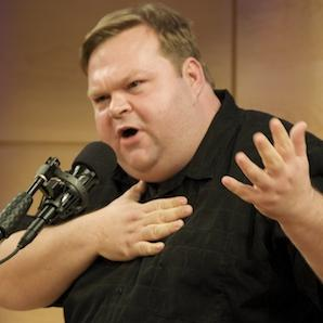 Mike Daisey in the Greene Space, Halloween 2009