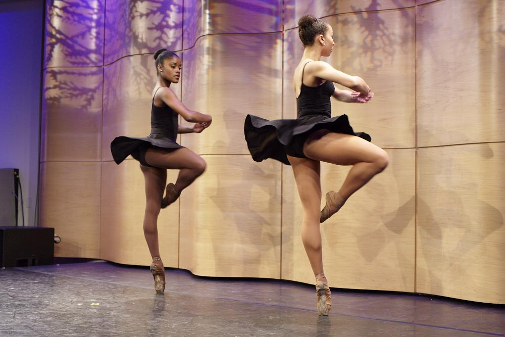 Black Swans: Dance Theatre of Harlem's Ingrid Silva and Stephanie Rae Williams Perform from 'Contested Spaces'