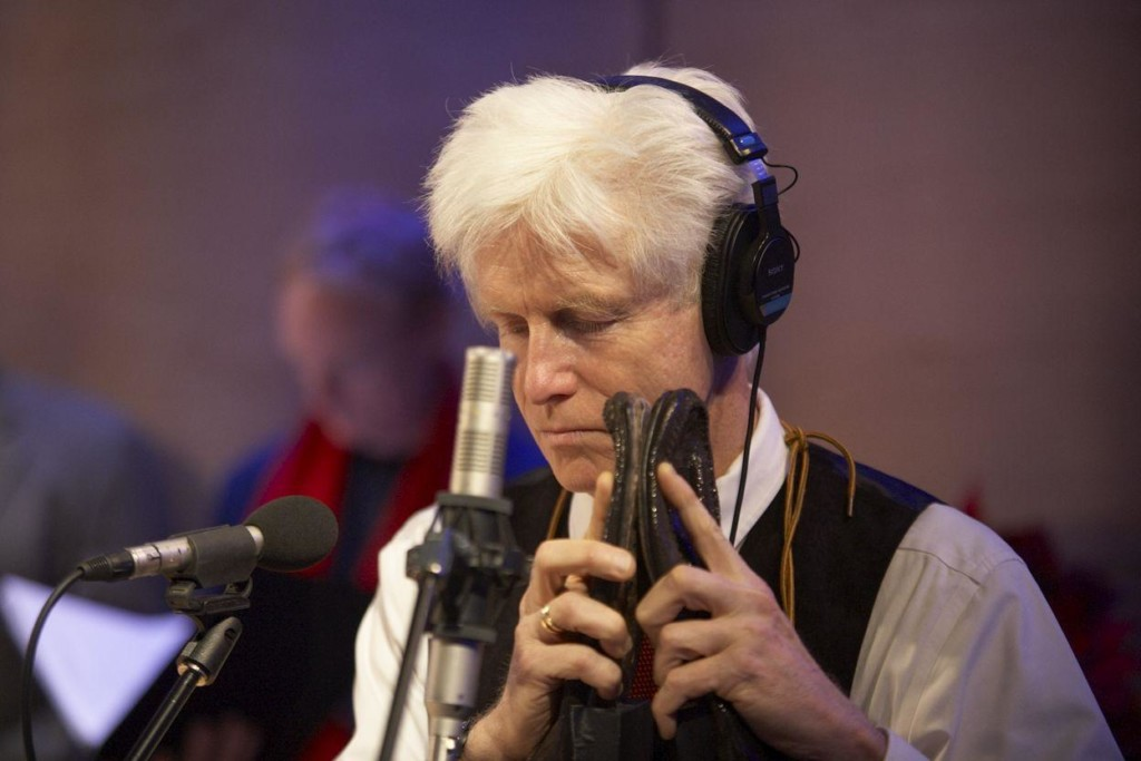 Sound effects master Fred Newman in The Greene Space for