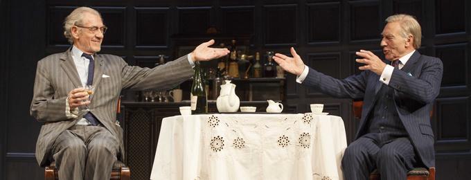 Sir Patrick Stewart and Sir Ian McKellan