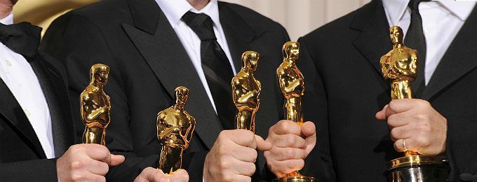 Joel Coen & Ethan Coen & Scott Rudin at the Academy Awards in 2008