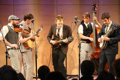 Soundcheck Live: Punch Brothers Perform 'This Girl' Live in The Greene Space