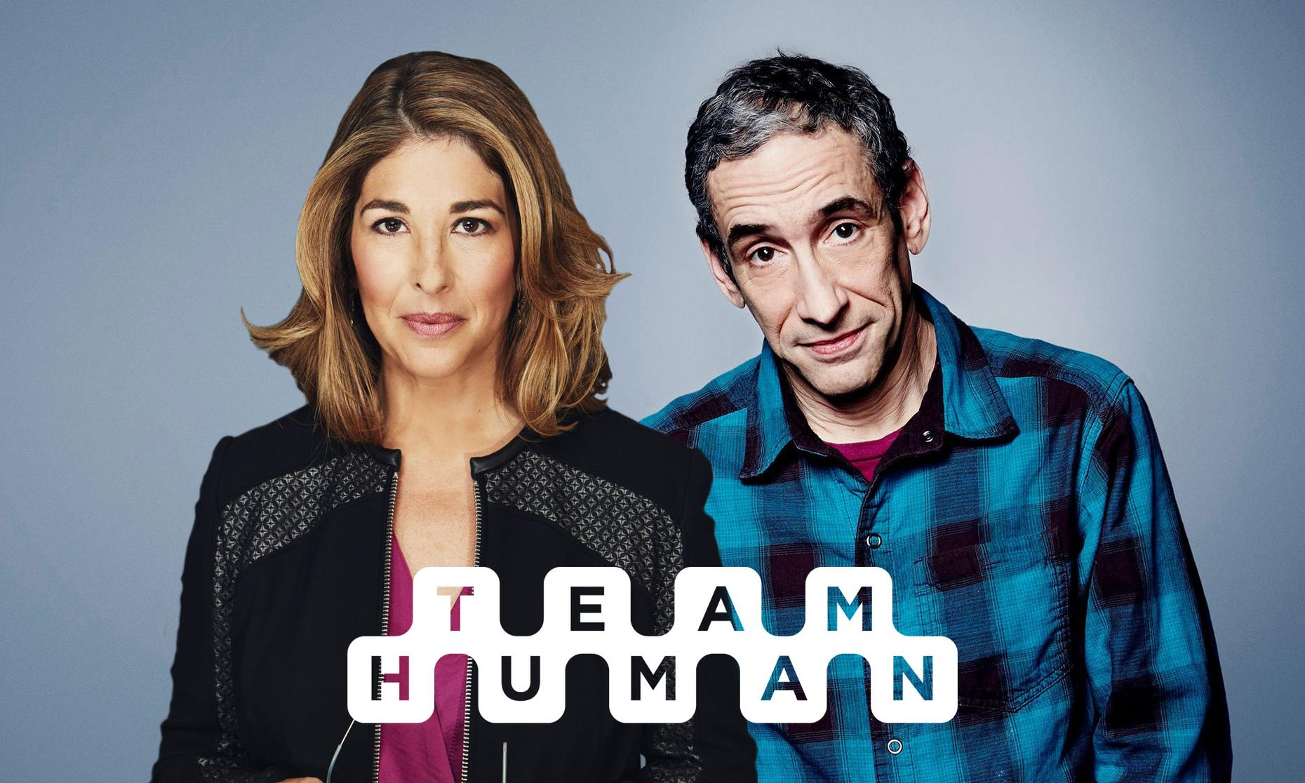 Team Human with Naomi Klein and Douglas Rushkoff