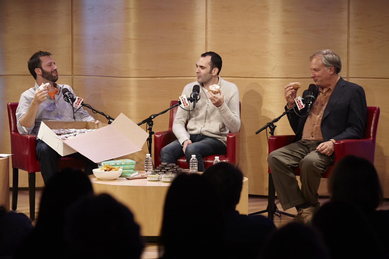 On-Demand Video: The Sporkful with Amy Sedaris, Dominique Ansel and Robert Krulwich