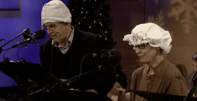 Tony Roberts stars as Scrooge in 'A Christmas Carol' live in The Greene Space