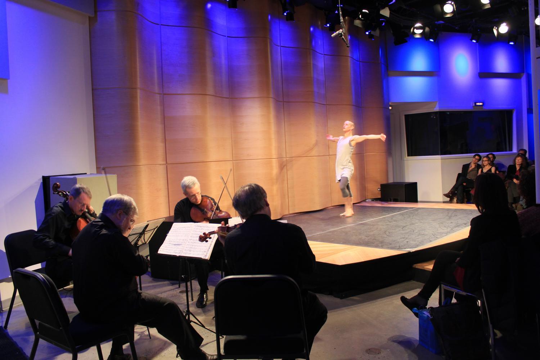 Ravel's Quartet in F Major: Orion String Quartet and Jennifer Nugent of the Bill T. Jones/Arnie Zane Dance Company