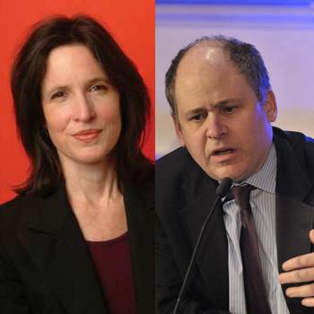 Katrina vanden Heuvel and Jonathan Alter