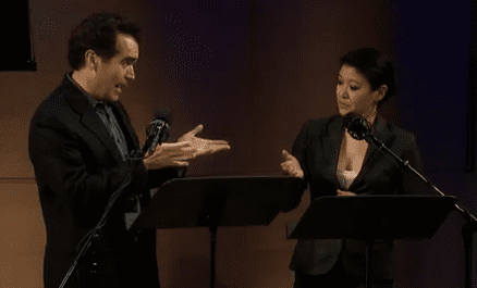Brian d'Arcy James and Jennifer Lim Perform an Excerpt from 'Chinglish'