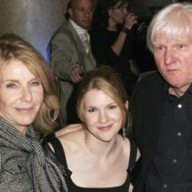 Jill Clayburgh, Lily Rabe and David Rabe