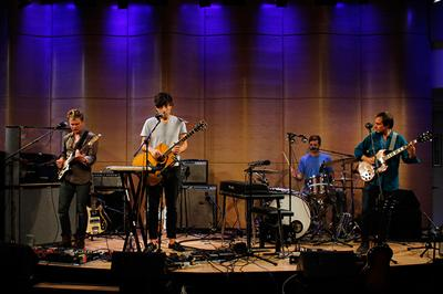 Grizzly Bear Performs 'Sleeping Ute' Live on Soundcheck in The Greene Space