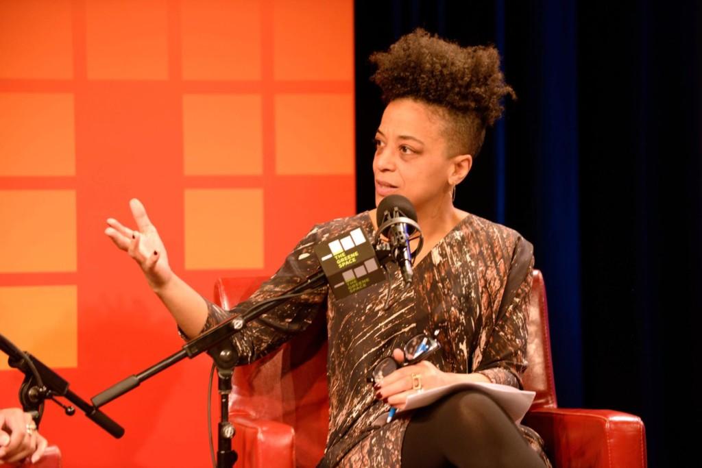 WNYC's Rebecca Carroll (Photo by Stephanie Black)
