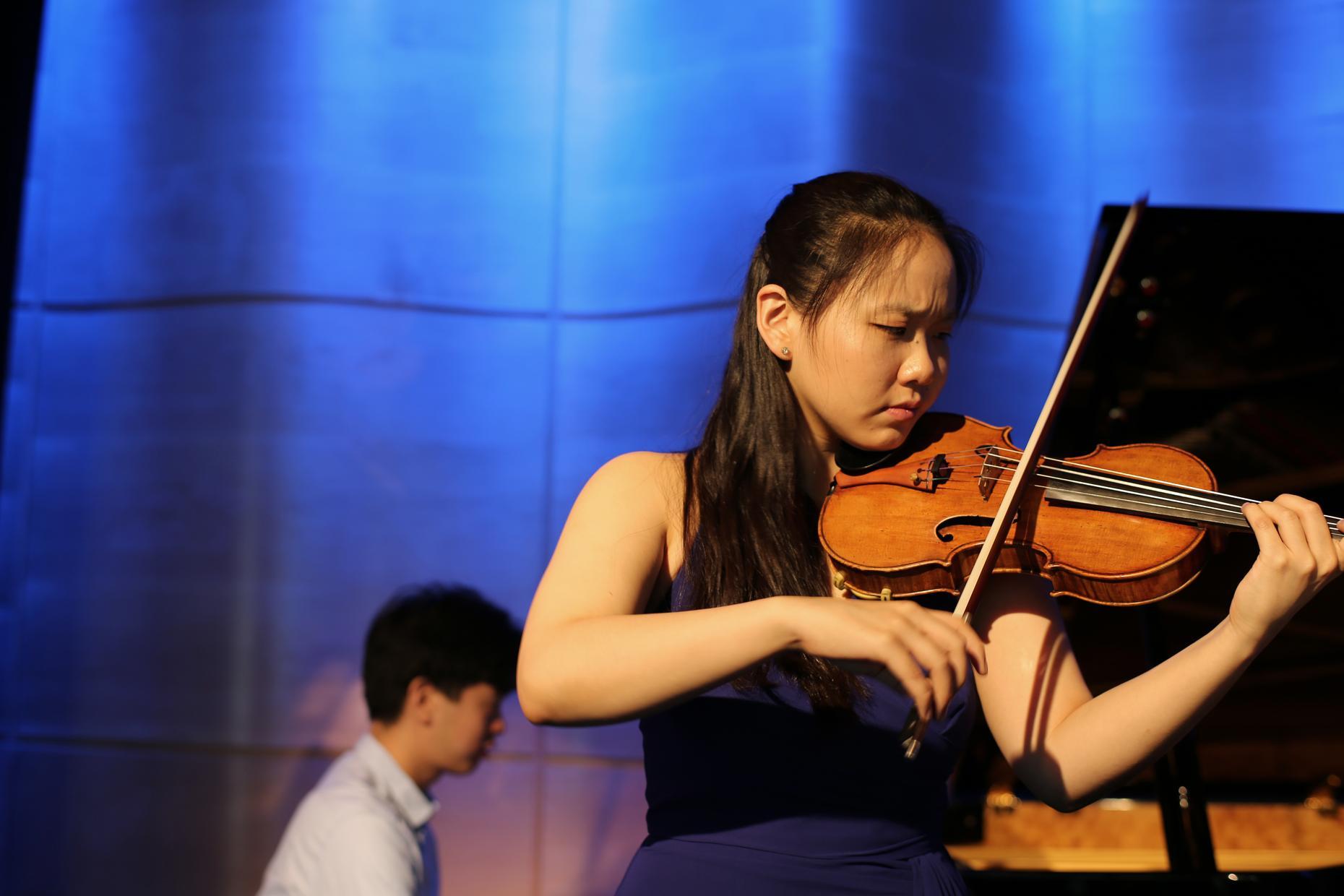 WQXR Presents Midday Masterpieces: Violinist Stella Chen