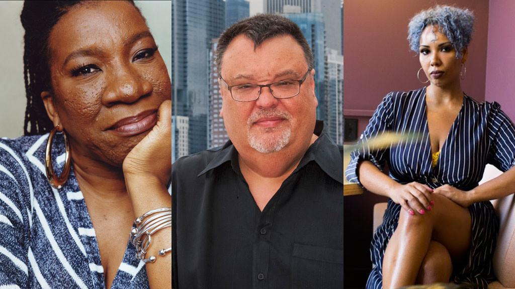 Tarana Burke, Jim DeRogatis and Jamilah Lemieux
