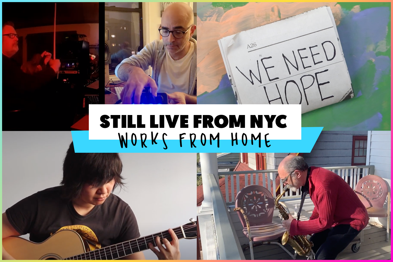 (Still) Live from NYC: Works from Home