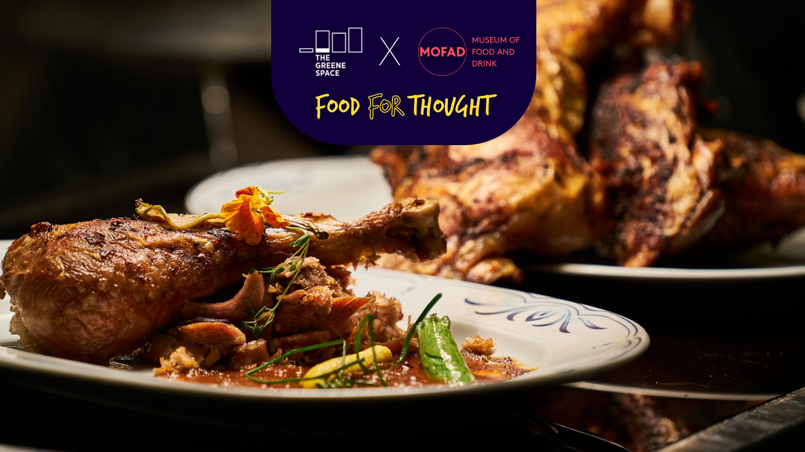 Food for Thought | The Greene Space X MOFAD Presents Reclamation Feast