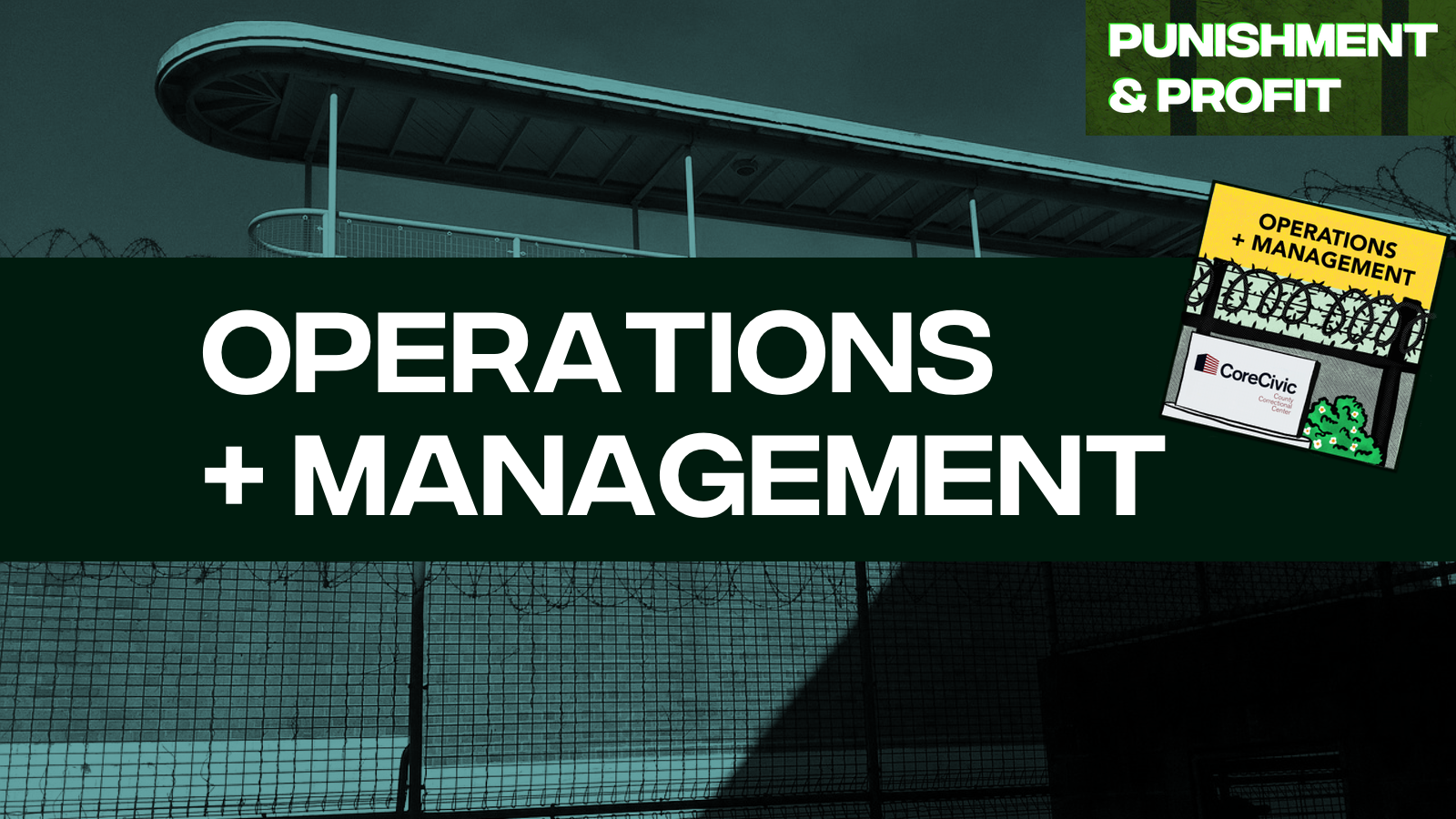Punishment & Profit: Operations & Management