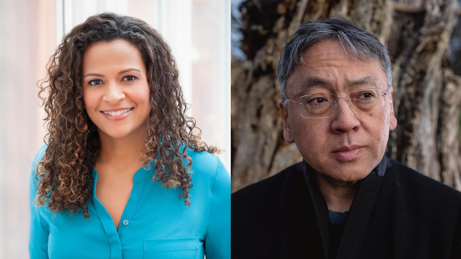 Alison Stewart and Kazuo Ishiguro